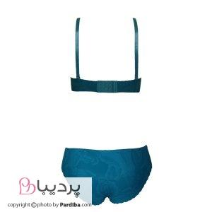 ست لباس زیر لیزری-آبی-نمای پشت
