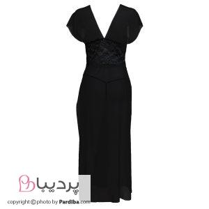 لباس خواب حریر شهره - کد 9480 - نمای پشت
