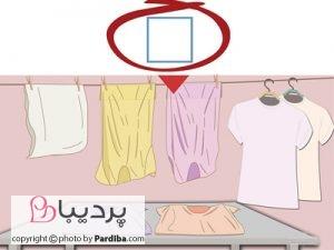 علائم روی لباسها را بهتر بشناسیم - خشک کردن به روش های طبیعی