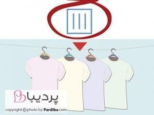 علائم روی لباسها را بهتر بشناسیم - خشک کردن به روش آویزان کردن