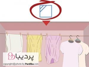 علائم روی لباسها را بهتر بشناسیم - خشک کردن در سایه