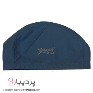 کلاه شنای لایکرا YONGBO - آبی