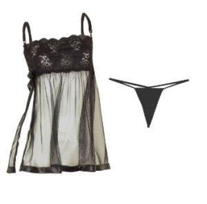 لباس خواب 501 سیاه