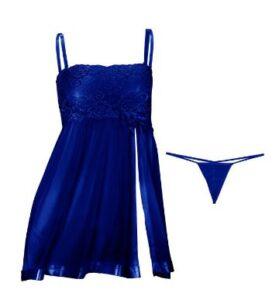 لباس خواب 501 آبی