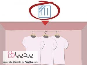 علائم روی لباسها را بهتر بشناسیم - خشک کردن در سایه و آویزان